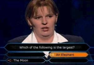 Millionaire Fail.
